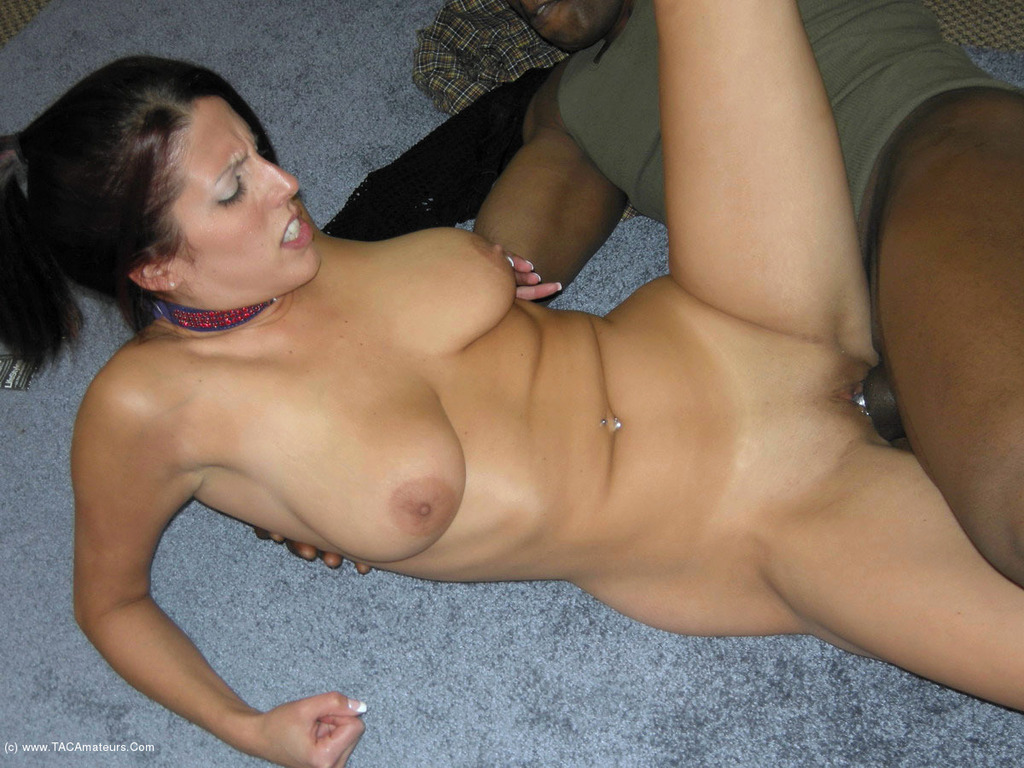 Mature white wife forced black