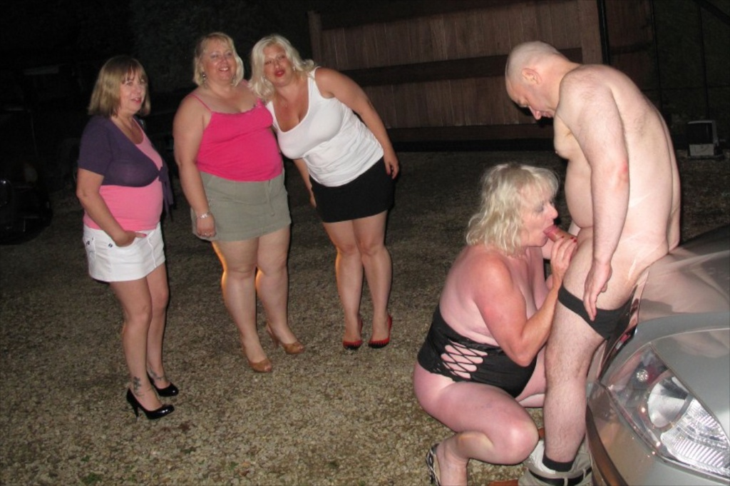 Claire goes dogging while the husband is left at home